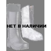 Сапоги ЭВА мужские зимние NORD (SARDONIX) -60С, с чулком (натуральный мех) и манжетой