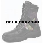 Ботинки с высоким берцем облегченные, камуфляж Лес