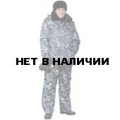 "Куртка мужская ""Охрана"" зимняя, камуфляж ""город"""