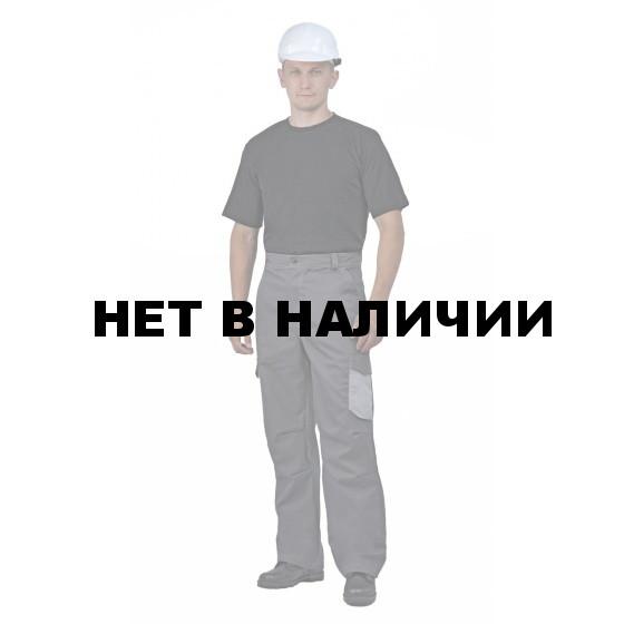 Брюки мужские Рольф серый с св-серым, 240 г