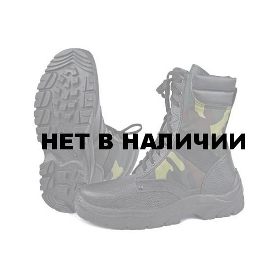 Ботинки с высоким берцем облегченные, камуфляж НАТО