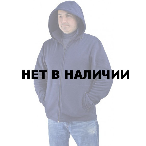Куртка флисовая УНИВЕРСАЛ темно-синяя