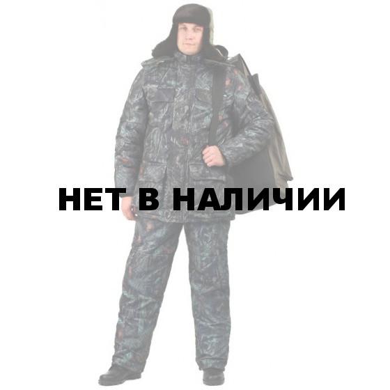 "Костюм мужской ""Nordwig Buran"" зимний, камуфляж т.Алова ""Рябина"""