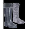 Сапоги ЭВА мужские зимние СЕВЕР (SARDONIX) -45С, с вкладным чулком и манжетой, черные