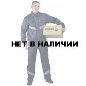 Костюм мужской Дока Моготекс летний, с полукомбинезоном синий