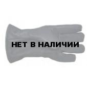 Перчатки кожаные утепленные (иск.мех)