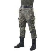 """Брюки мужские """"Gerkon Commando"""" летние, камуфляж т.Смесовая """"Варан"""""""