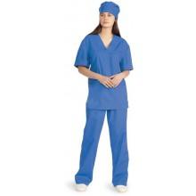 Костюм универсальный хирургический васильковый