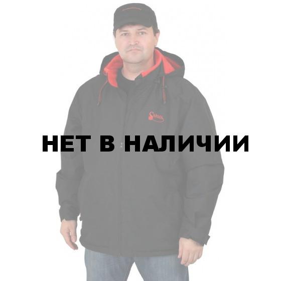 Куртка мужская Sarma для активного отдыха на подкладке из флиса C025 черная