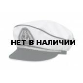 Адмиралка кп165к-15 белая, с регулировкой, серебр. шнур