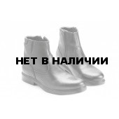 Ботинки кожаные офицерские на искусственном меху. мод.58ТУМ