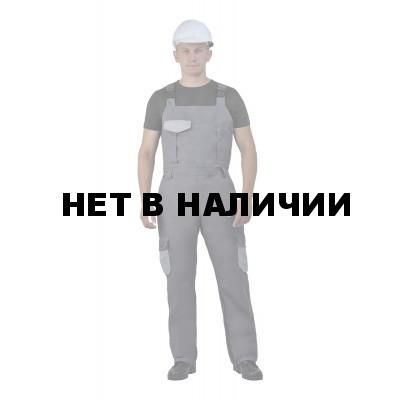 Полукомбинезон мужские Рольф серый с светло-серым, 240 г