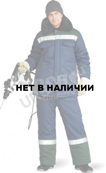 437dc36d23b8 Костюм мужской Вьюга зимний темно-синий с т-зеленым, производитель ...
