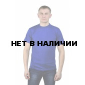 Футболка синяя кор. рук, пл. 150гр/м2