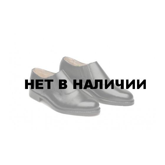 Полуботинки кожаные офицерские. мод. 51