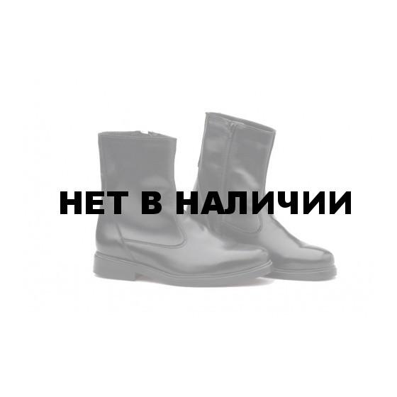 Ботинки кожаные офицерские зимние, искусственный мех. мод. 58М