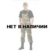 Полукомбинезон мужской Дрегер, камуфляж Атака зелёный