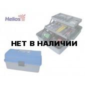 Ящик рыболова двухполочный 34*20*16см Helios