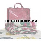 Одеяло 1,5-спальное (140 х 205) шерсть в поликоттоне