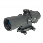 Прицел оптический Veber Wolf Prismatic 5х40 RGB