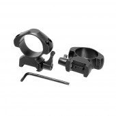 Кольца для прицела Veber E 3021 QH Weaver быстросъёмные