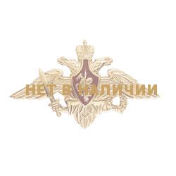 Эмблема Орел ВС на тулью металл