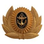 Кокарда ВМФ для мичманов и прапорщиков металл