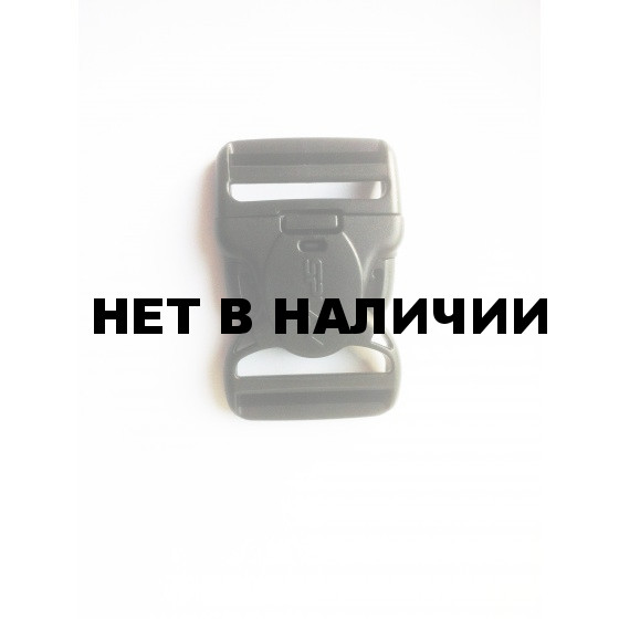 Пряжка фастекс с замком 50 мм 1-21120/1-20120 (2 части) две регулировки оливковый Duraflex
