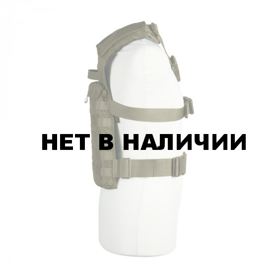 Легкий разгрузочный жилет для крепления на спине бронепластин и дополнительного снаряжения TT Trooper Back Plate, 7789.331, olive