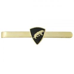 Зажим для галстука с эмблемой Пантера металл