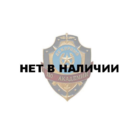 Нагрудный знак Дежурный по академии металл