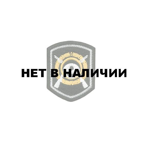 Нашивка на рукав Приказ №433 МВД Вневедомственная охрана пластик