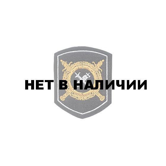Нашивка на рукав Приказ №242 МВД Обеспечение деятельности органов ВД пластик