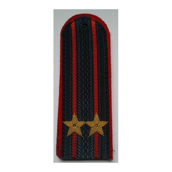 Погоны МВД Подполковник вышитые золото (старого образца)