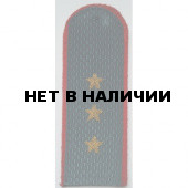 Погоны МВД Старший прапорщик вышитые латунь