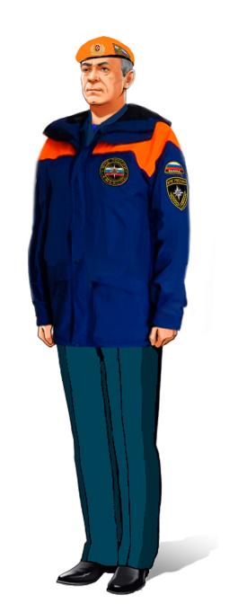 Форменная одежда сотрудников ФПС ГПС МЧС