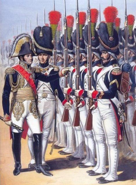 Военные чины и знаки различия армии Наполеона