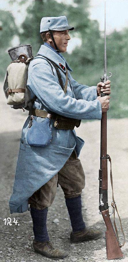 Французский солдат Первой мировой