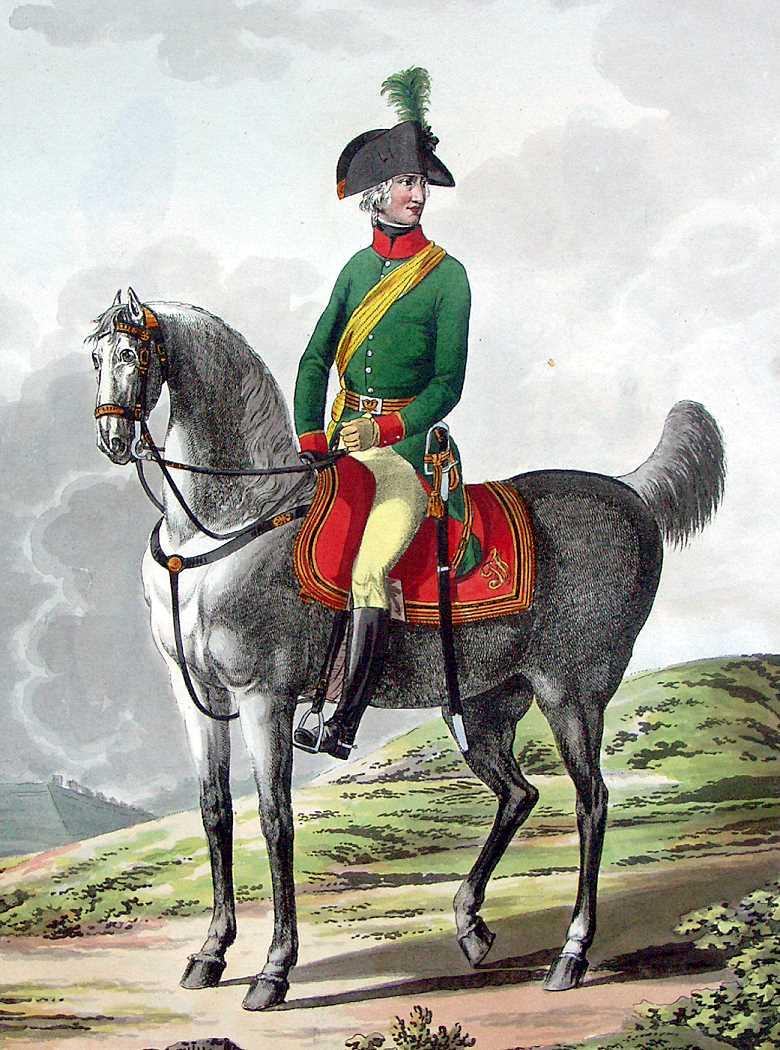 Мундиры австрийской армии 1798-1805 гг.