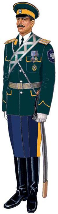 Рекомендации к форме Забайкальского казачьего войска