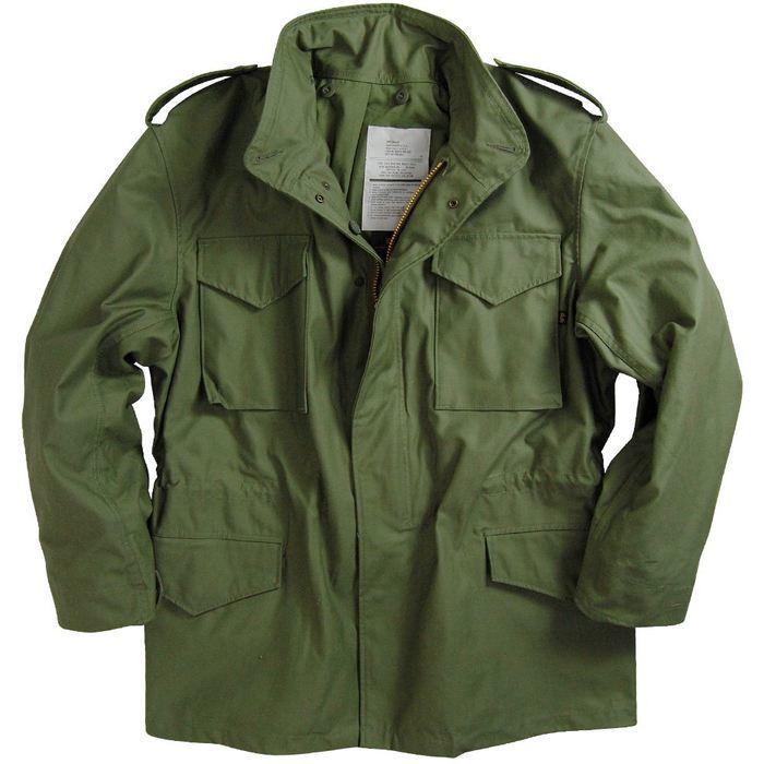 Куртка M-65 - легендарная полевая куртка армии США
