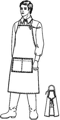ГОСТ 12.4.029-76 Фартуки специальные. Технические условия (с Изменениями N 1, 2, 3)