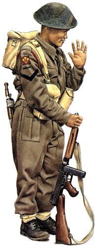 Униформа доминионов Великобритании Второй мировой