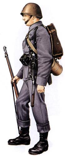 Униформа сухопутных войск Дании во Вторую мировую