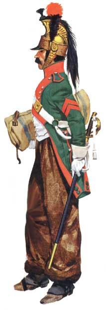 Униформа драгун Наполеоновской армии 1796-1815 гг.