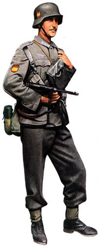 Униформа сухопутных войск Испании Второй мировой