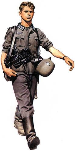 Униформа сухопутных войск Германии во Вторую мировую