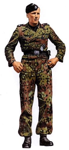 Униформа войск СС Вермахта во Вторую мировую