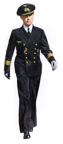 Униформа ВМС Германии во Вторую мировую