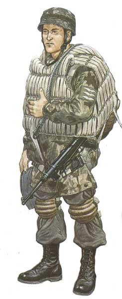 Униформа германских парашютистов 1935-1945 годов